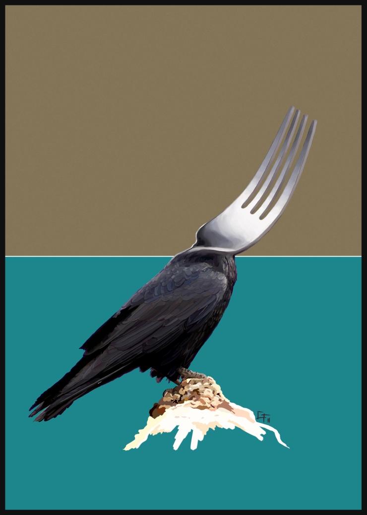 Corbeau Fourchette - Character Design - Gabriel Talbot