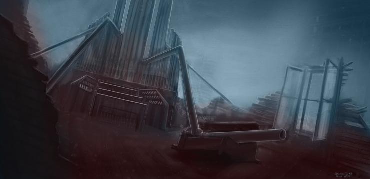 Broken Organ  - Environment Design - Gabriel Talbot