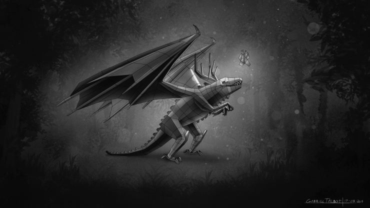 Dragon  - Character Design - Gabriel Talbot