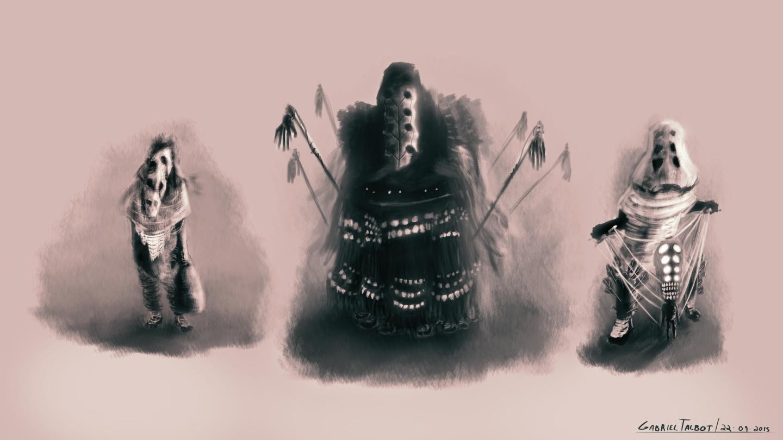 Death's Aborigines - Character Design - Gabriel Talbot