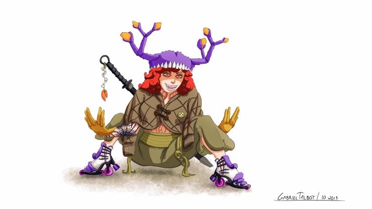 Crab Girl - Character Design - Gabriel Talbot